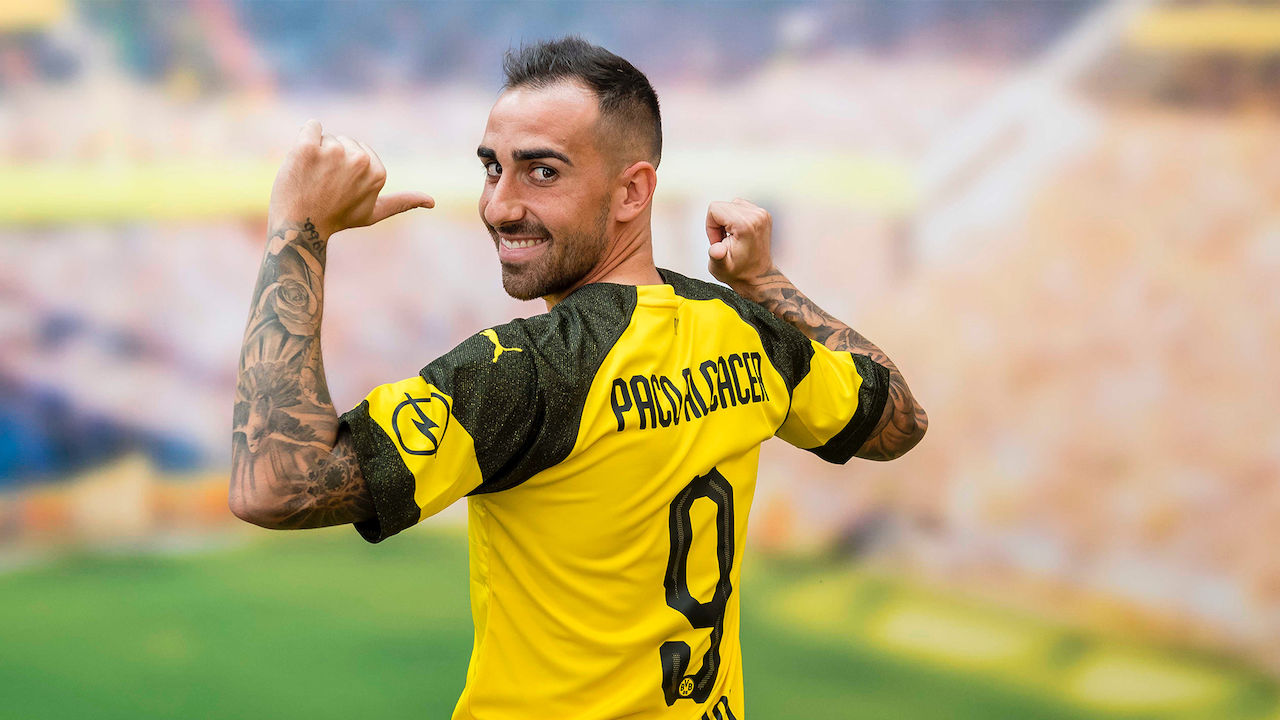 Paco Alcacer Bvb