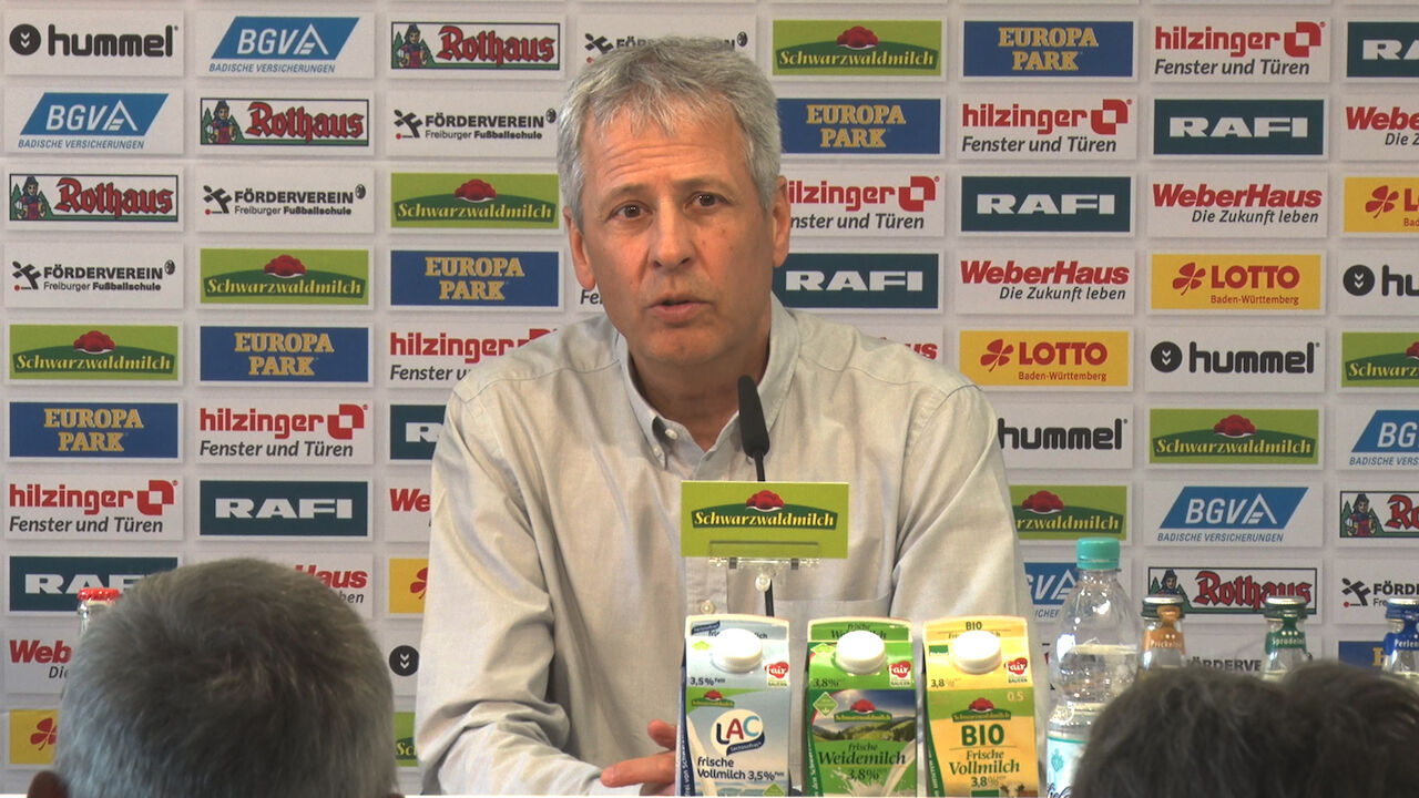 Freiburg Pressekonferenz